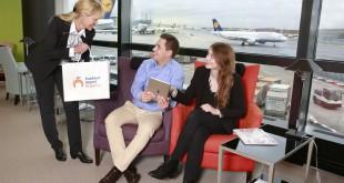 Nueva plataforma de compra online en el aeropuerto de Frankfurt