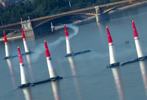 carrera Red Bull Air Race en Budapest
