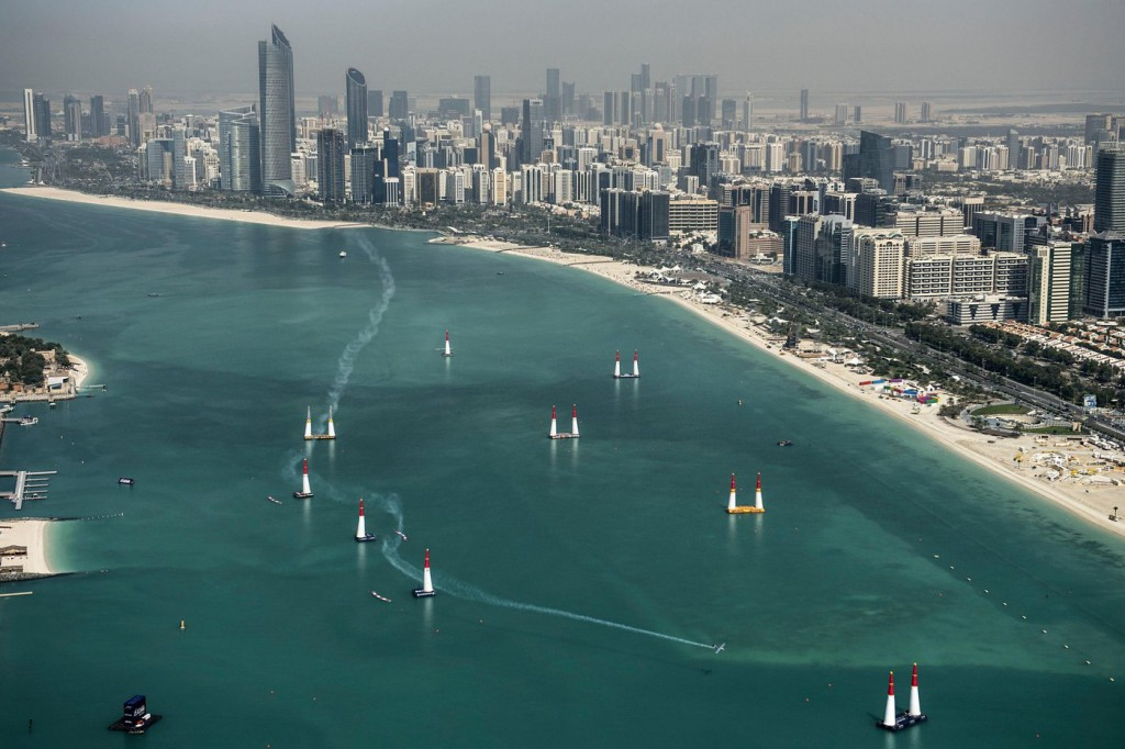 Red Bull Air Race 2016 en Abu Dhabi.