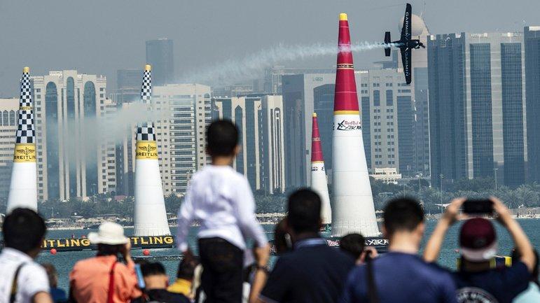 El público en Abu Dhabi