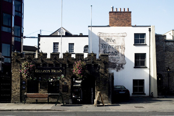 The Brazen Head pub