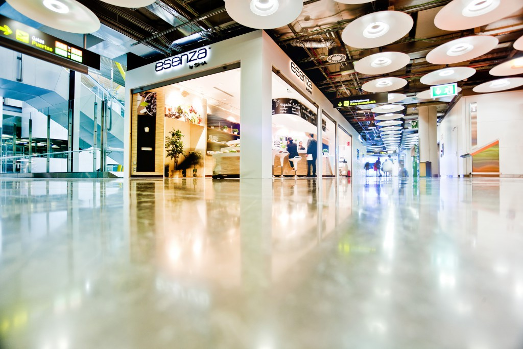Espacio de Esenza by SHA en la T4S del aeropuerto de Madrid
