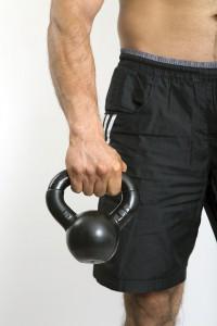Las Kettlebells son utensilios muy usados en los wods.