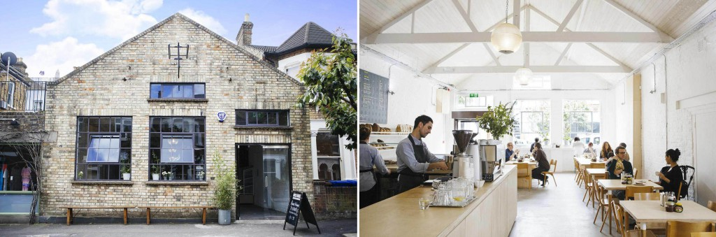panadería Brick House Londres