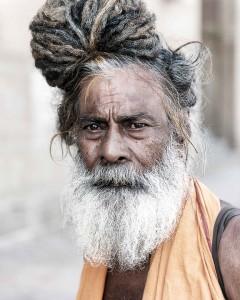 Un hombre de La India.