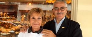 Marie-Anne Cantin y su marido, amantes del queso y divulgadores de sus virtudes en París.