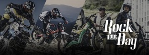 Rock your day: un buen lema para unas moto-bikes únicas.