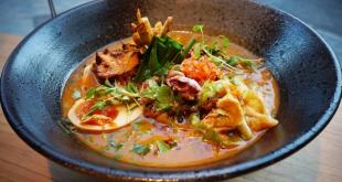 Uno de los platos de ramen de Lamian by Soy Kitchen.