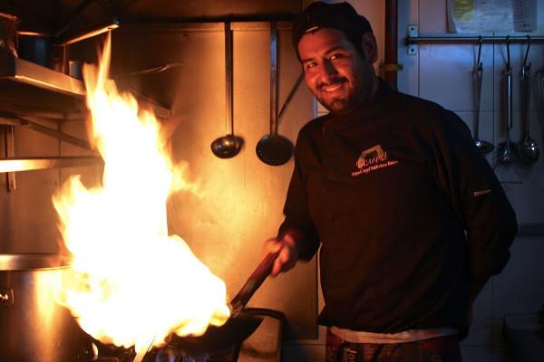Miguel Ángel Valdiviezo, chef del madrileño restaurante Tampu.