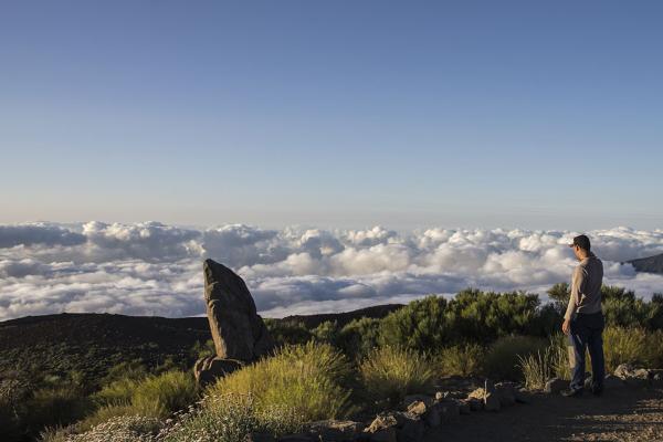 El Parque Nacional del Teide es una visita obligada.