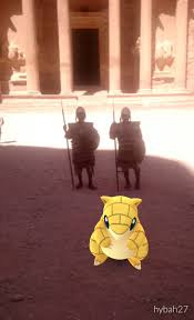 Pokemon Go en Petra