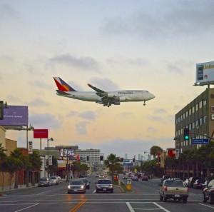 aterrizando en LAX