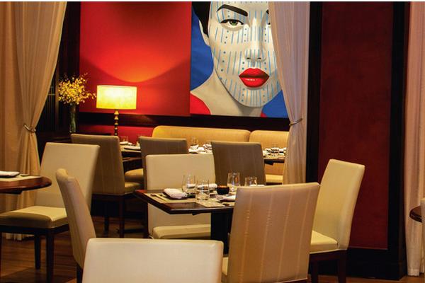 Elegante, exótico, seductor: Así es MEE Restaurant. Imagen de la web del hotel.