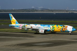 La fiebre de Pokémon llega a las aerolíneas. Imagen de Wilco737.