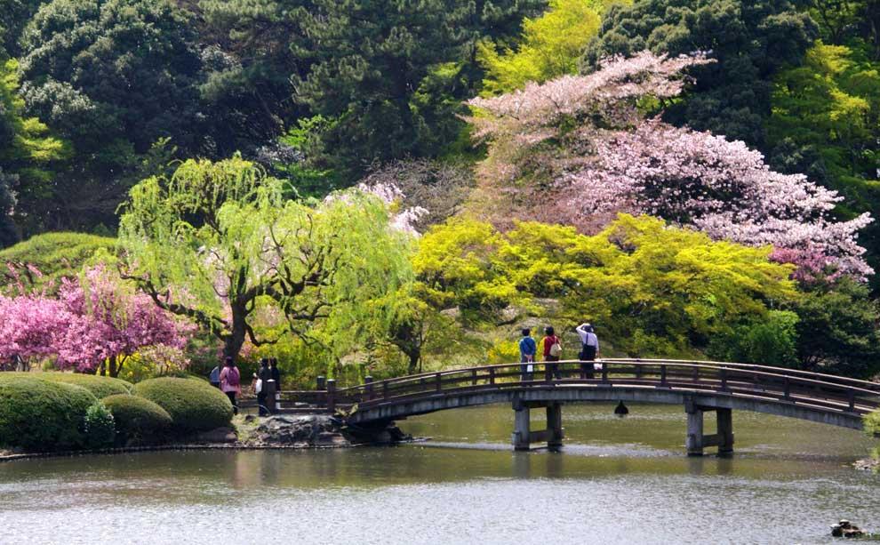 Parque Nacional de Shinjuku Gyoen