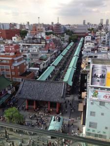calle Nakamise de Asakusa