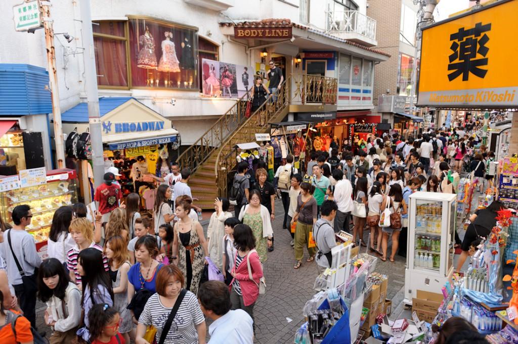 calle Takeshita de Harajuku