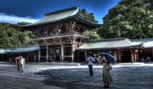 Remanso de paz en el santuario Meiji de Harajuku.