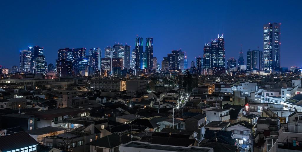 Skyline de Shinjuku