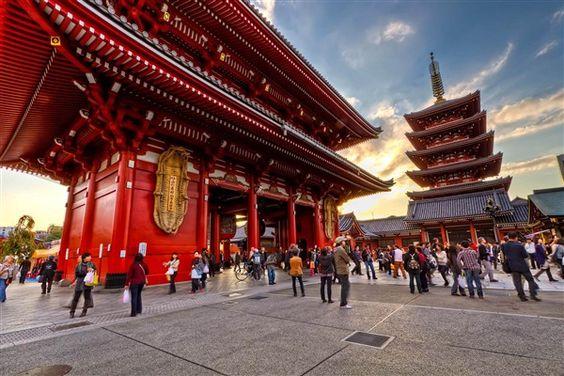 templo de Sensoji en Asakusa