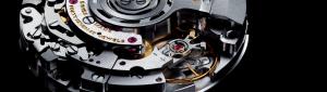 El calibre manufactura de Breitling  B04  automático.