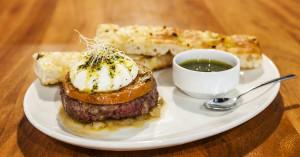 La hamburguesa mediterránea de Filburg. Imagen de su página de Facebook.
