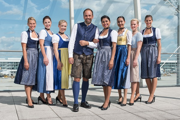 Lufthansa cumple diez años rindiendo homenaje al Oktoberfest.