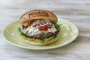 Timesburg: hamburguesas marcadas a fuego. Imagen de su web.