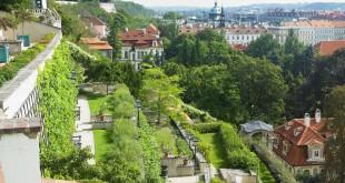 Las vistas desde la villa que mandó construir el empresario Moritz Gröbe al fin del siglo XIX. Se encuentra junto al viñedo de Grebovka. Foto: czechtourism.com.