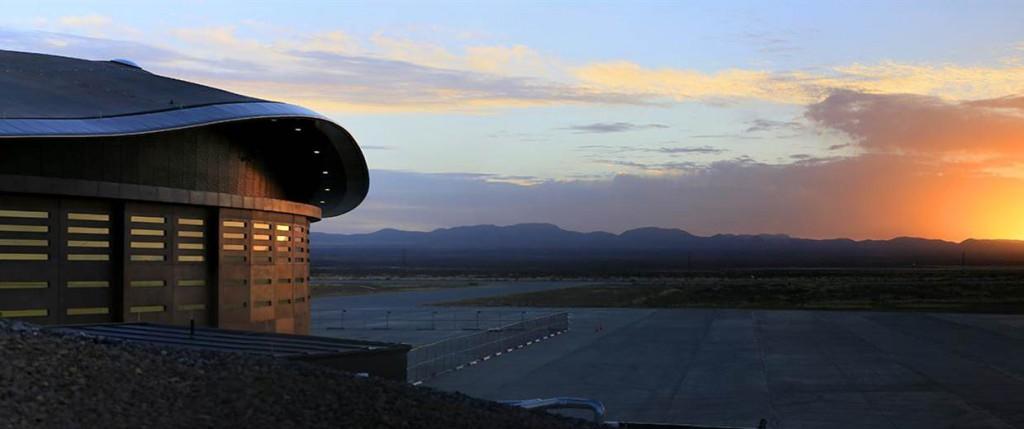 El estado de Nuevo Méjico en medio de la nada, es el lugar elegido por Richard Branson para embarcar a los turistas del espacio.