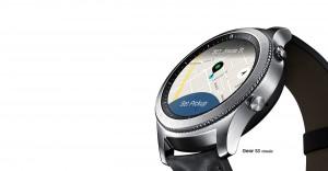 Su sistema GPS es especialmente útil para los deportistas.