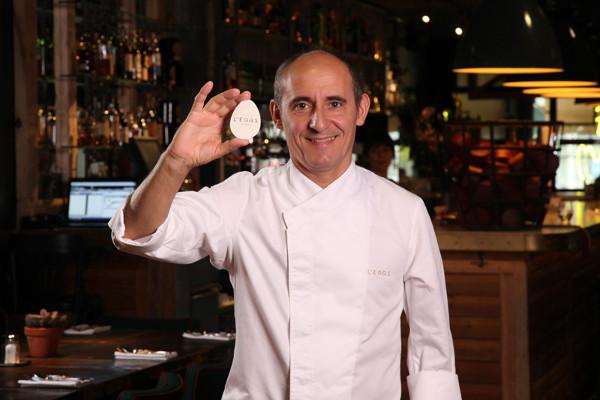Paco Pérez le pone huevos a su nuevo local. Imagen de su web.