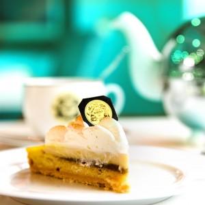 La maison Mariage Frères ofrece en en sus salones de té pasteles infusionados al té.