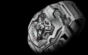El UR-210, otro de los últimos relojes de la compañía.