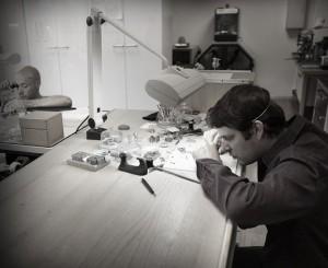 El atelier de Urwerk.