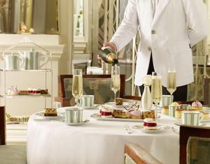 Claridge's: el refinamiento del té. Imagen de su web.