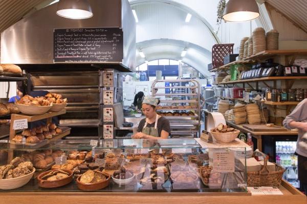 E5 Bakery: deliciosas hogazas naturales hechas en Londres.