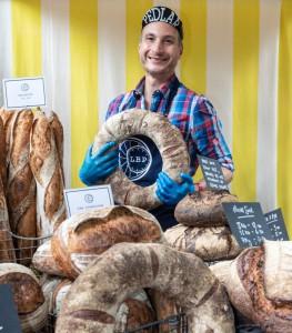 En The Little Bread Pedlar, presumen de que sus métodos de trabajo no son especialmente tradicionales.