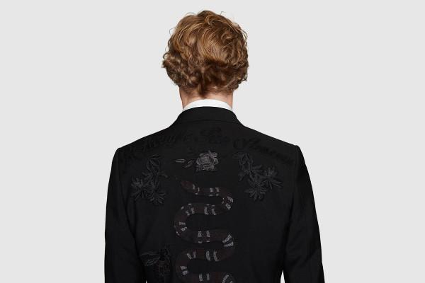 Con un bordado llamativo pero nada loco: Así es la propuesta de Gucci más atrevida.