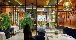 El restaurante de La Huerta de Carabaña está en Lagasca. Es el espacio más formal y gastronómico.