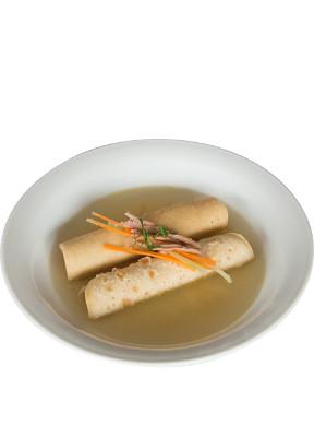 """Crispelle """"mbusse"""", un plato típico de Abruzzo que puede probar."""