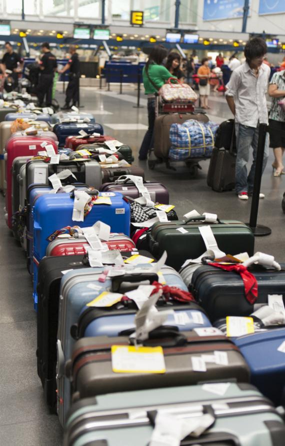 Las maletas nos pueden jugar una mala pasada.