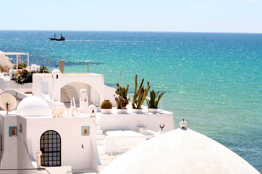 La localidad mediterránea de Hammamet.