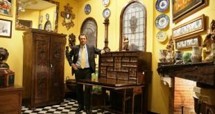 Antigüedades Linares es uno de los anticuarios más conocidos de la capital. Imagen de su página de Facebook.