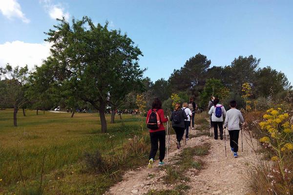 Hacer senderismo y disfrutar de los caminos rurales ibicencos es buena idea.