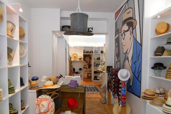 Una de las tiendas de Anthony Peto. Imagen de su web.