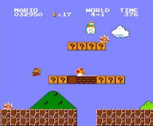 Podríamos jugar durante horas al Mario Bros.