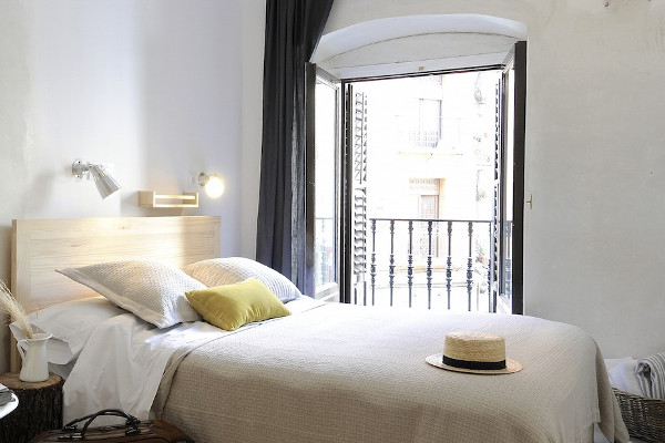 Una de las bonitas habitaciones de The Hat, en Madrid. Imagen de su web.