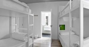 Una de las habitaciones comunes en U Hostel Madrid. Imagen de su web.