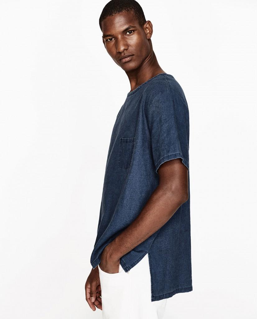 El oversize de Zara en camisetas.